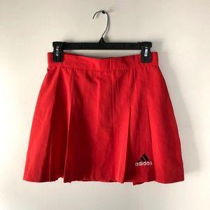 Adidas Vintage Red Tennis Skirt